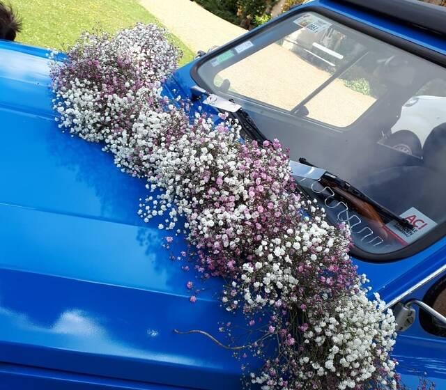 guirlande voiture {des mariés}