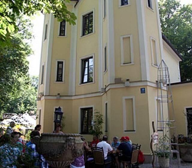 Beispiel: Aussenansicht, Foto: Villa Floßlände.