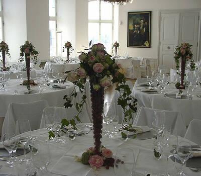 Beispiel: Catering-Service und individuelle Dekoration, Foto: Die-Erlebnishochzeit.de.