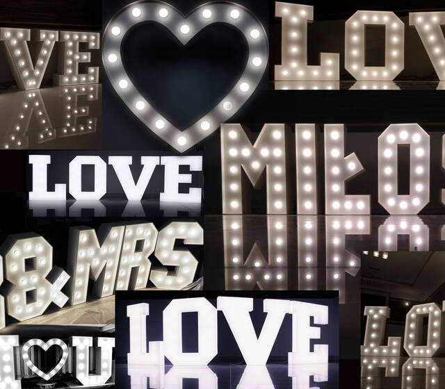 LiteroweLove.pl to największa w Polsce wypożyczalnia literowych dekoracji świetlnych na wesela online. Przy pomocy prostego formularza umożliwia samodzielne sprawdzenie terminu, dobranie lokalizacji i rezerwację wybranego produktu.