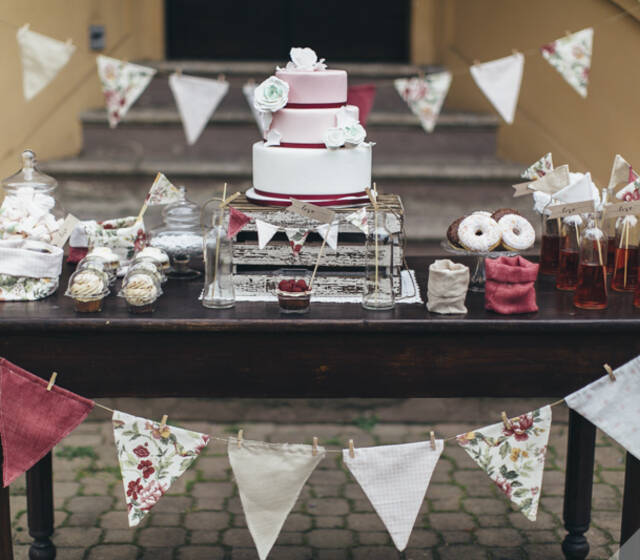 DeliziaMi Sweet Table creato per Biancoconstile