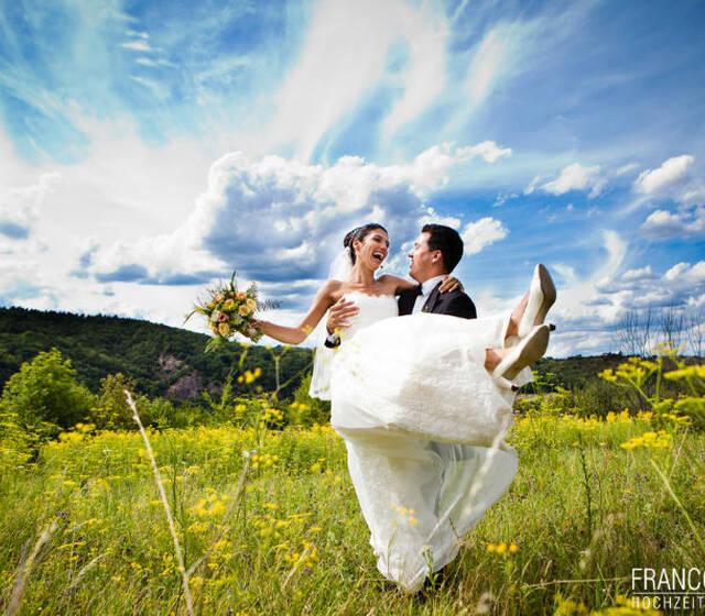 Beispiel: Atemberaubende Kulissen für Ihre Hochzeitsfotos, Foto: Franco Baroni.