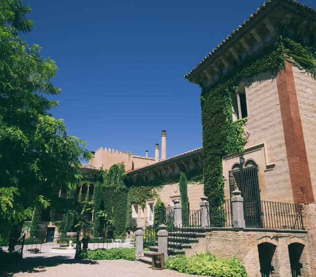 Palacio de los Duques de Villahermosa.