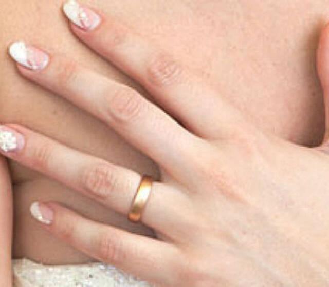Beispiel: Hochzeitsnägel, Foto: In Sachen Styling.