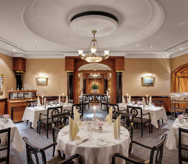 Beispiel: Restaurant, Foto: Hotel Atlantik Kempinski.