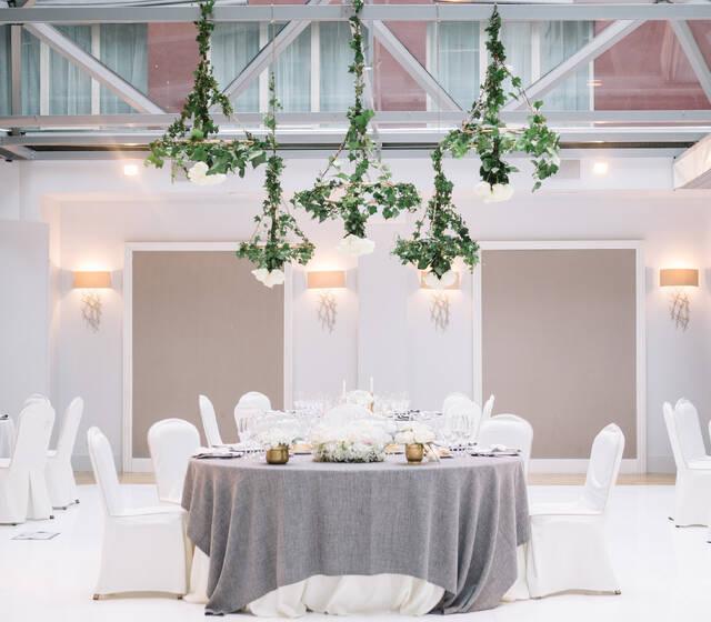 Salón Natura (techo acristalado)