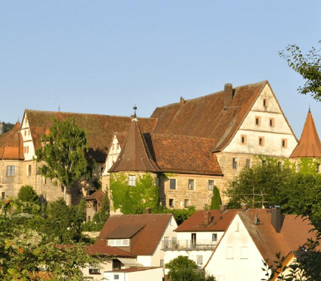 Beispiel: Vorderansicht, Foto: Schloss Wiesenthau.