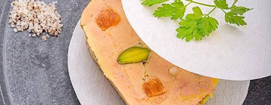 Foie gras comme un nougat