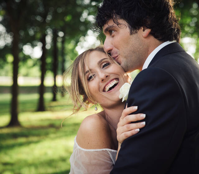 Ritratto fotografico sposi, foto spontanea, fotografia naturale