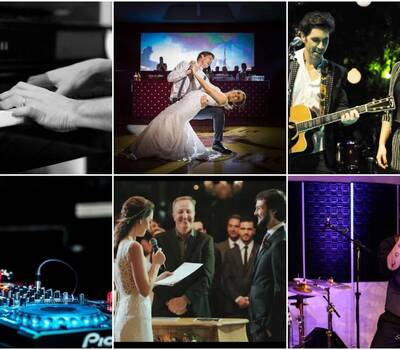 Músicos, dança, som, luz, Dj's e Celebrantes!
