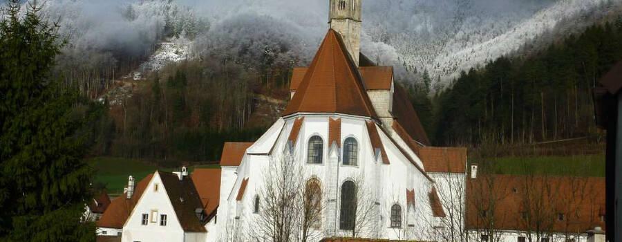 Beispiel: Kartausenkirche, Foto: Kartause Gaming.