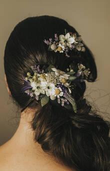 El Lenguaje de las Flores - tocado de novia