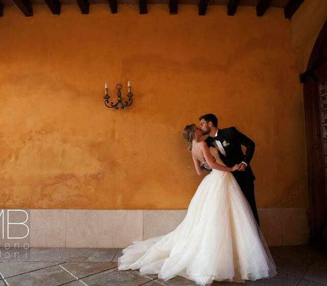 Moreno Belloni colore caldo a Villa Valenca