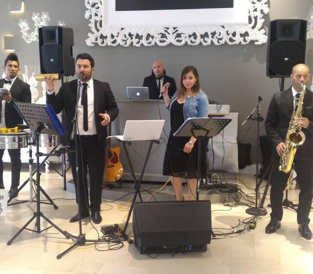 Francesco Vurchio dj & Live Band Live at Villa Carafa White living
