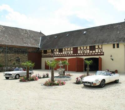Beispiel: Innenhof des Gutes, Foto: Hofgut Bergerhof.