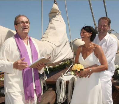 Trauung auf einem historischen Segelschiff vor Mallorca!