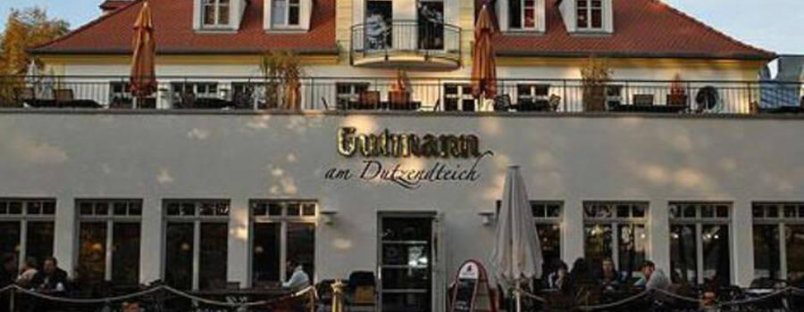 Beispiel: Außenansicht am Tag, Foto: Gutmann am Dutzendteich.