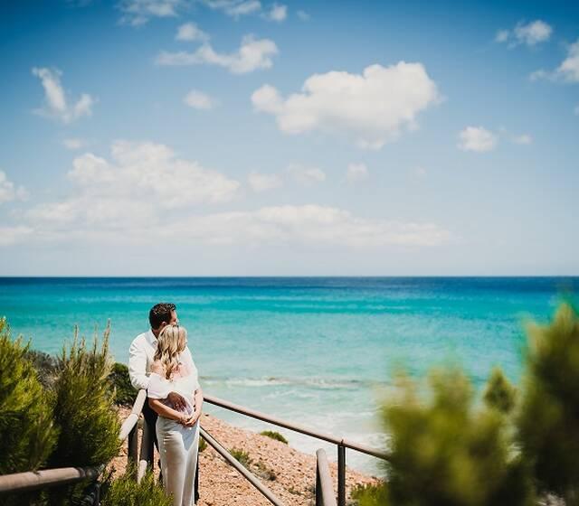 romantische Hochzeit auf Sardinien