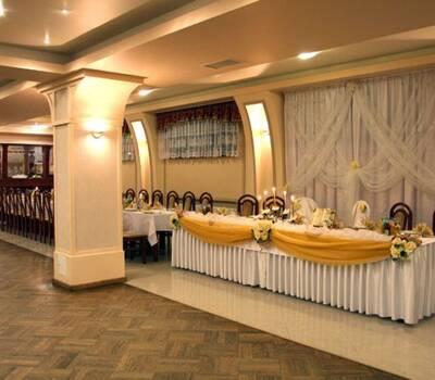 Sala weselna w hotelu Jurajskim w Krakowie