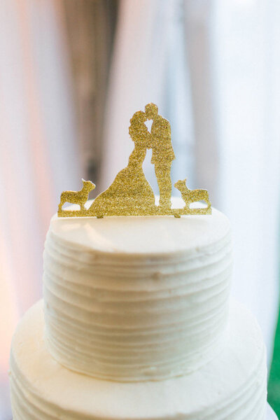 Figurines pour gâteau de mariage