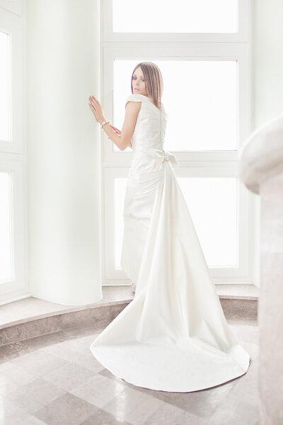 Suknia ślubna projektu Kasi Zapały