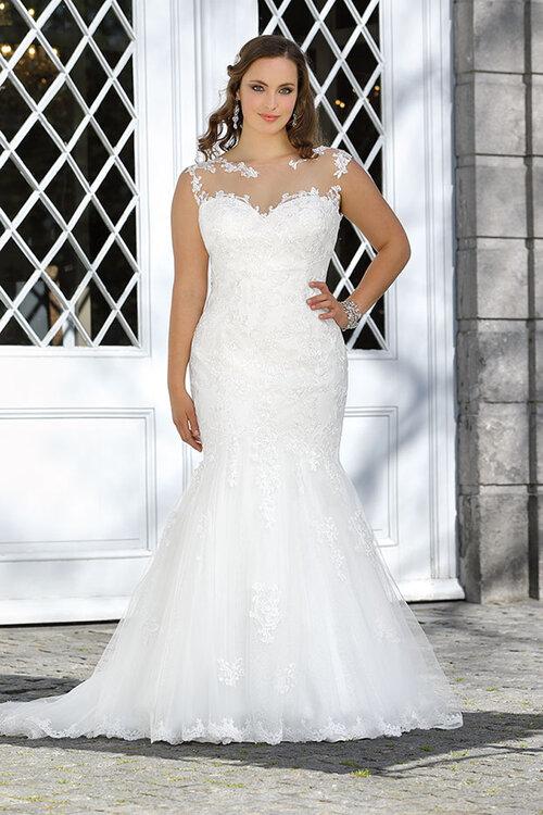 Abiti da sposa per donne curvy ... 4052996905e