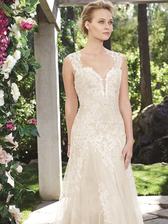 Casablanca Bridal Collection Fall 2016 Orchard 2247