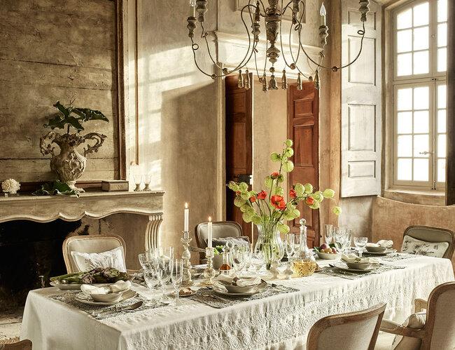 Quali tovaglie scegliere per i tavoli del vostro for Tovaglie zara home