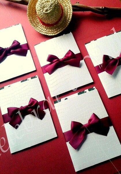 Convites de Casamento intemporais