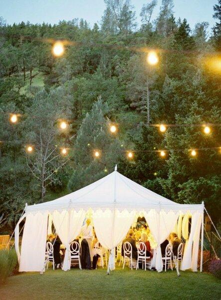 Zelte für die Open Air Hochzeit