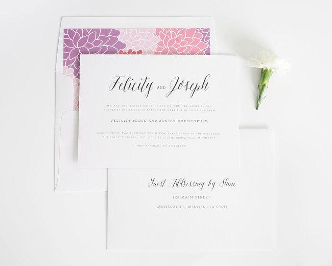 Shine Wedding Invitation: 30 Tipos De Convites Para Casamentos Em 2016. Tome Nota E