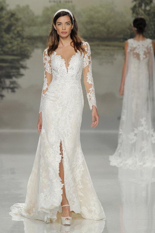 Vestidos de novia antiguos de encaje