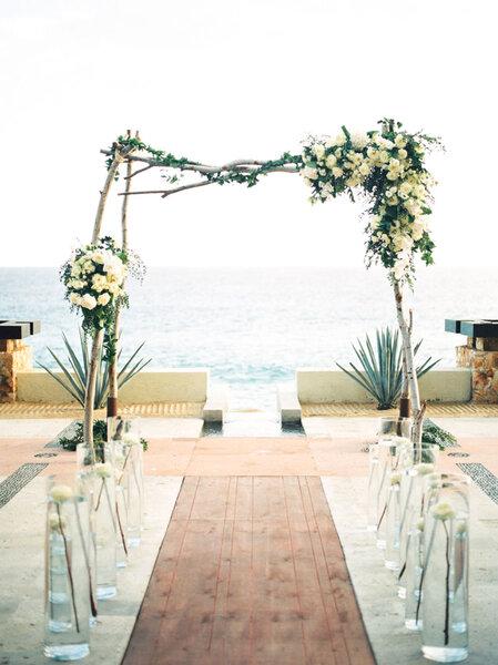 D coration de mariage la plage un cadre de r ve pour votre jour j - Mariage a la plage ...