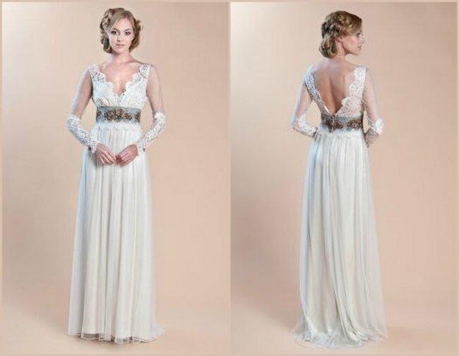 Vestidos de novia 2014 vintage de Claire Pettibone