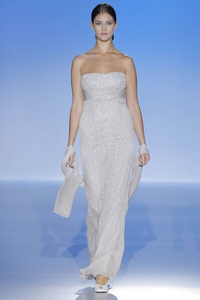 Suknia na wesele z kolekcji Franc Sarabia 2014
