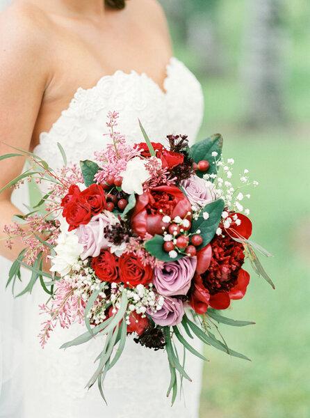 Bouquet de mariée d'automne