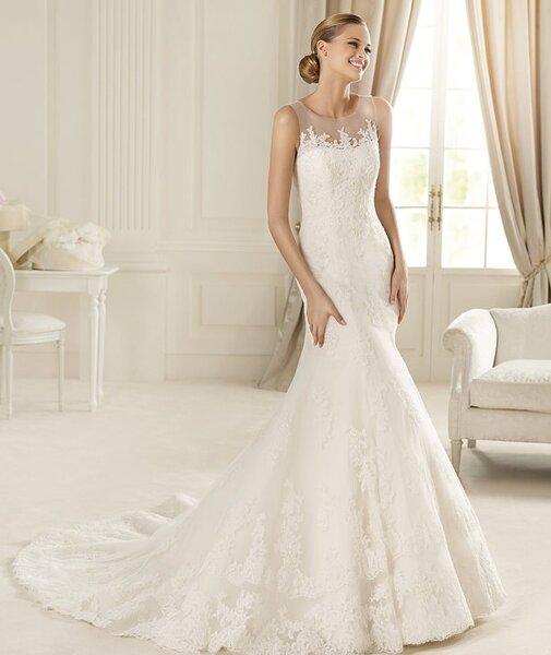 Suknie ślubne Pronovias 2013. Kolekcja Costura, model: danubio