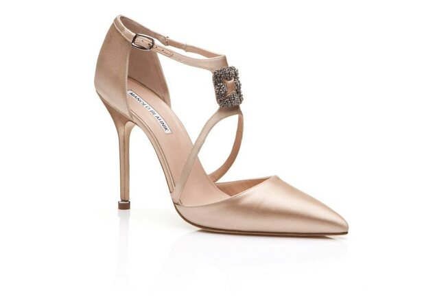 Zapatos De Novia Manolo Blahnik 2016 M 225 Ximo Glamour A Tus