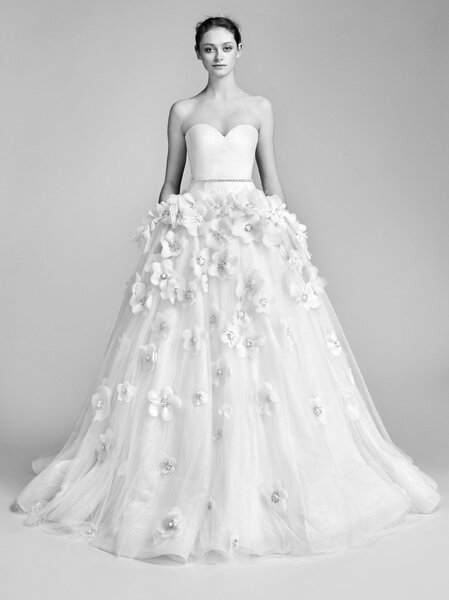 Flowerbomb Bloom Gown. Credits_ Viktor and Rolf.