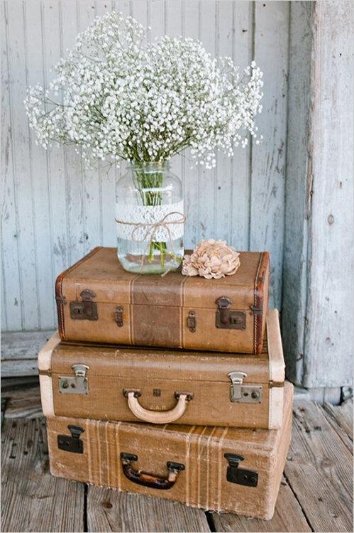 Verwegen und tr umerisch peppen sie ihre hochzeitsdekoration mit vintage elementen auf - Hochzeitsdekoration vintage ...