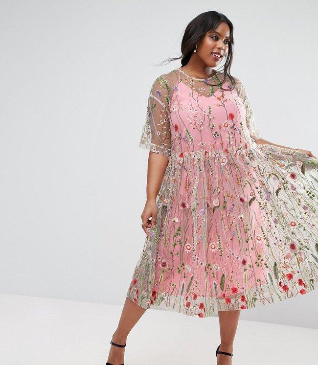 Vestidos de fiesta talla grande: más de 20 modelos a los que no ...
