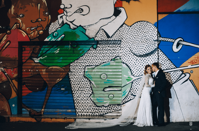 Street Wedding na Paulista.