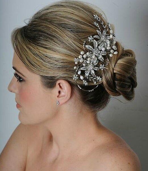 Accessoires vintage pour coiffure de mariage - Accessoire retro ...