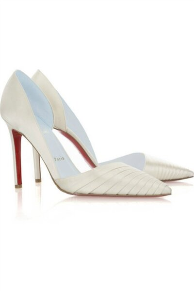 Bridal Shoes by Christian Louboutin