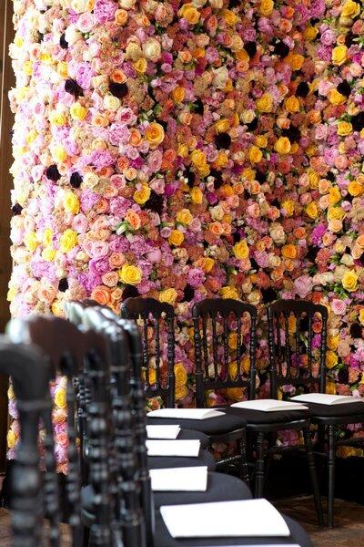 Decoraci n con flores naturales para la boda - Decoracion con flores artificiales ...