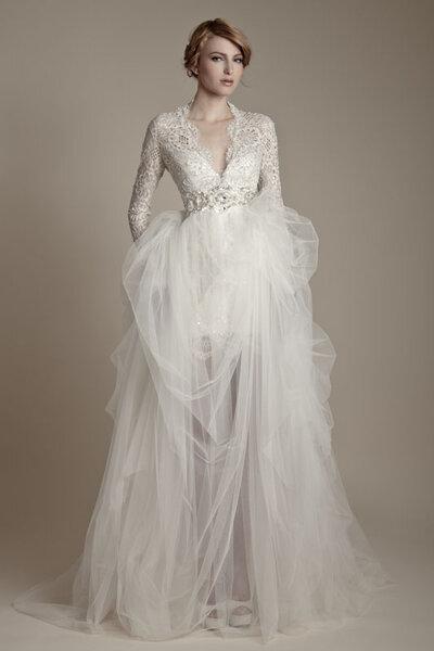 Suknia ślubna z kolekcji Ersa Atelier 2013