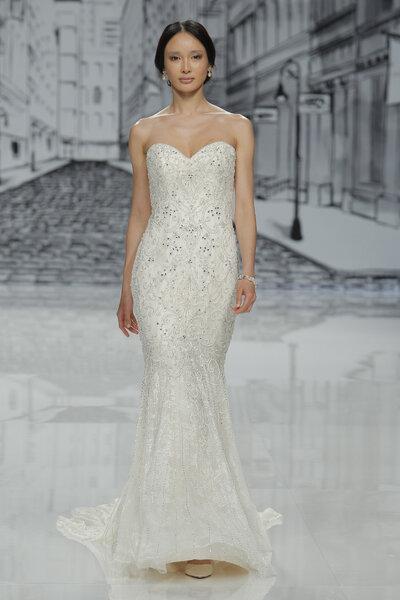 Vestidos corte sirena novia 2016