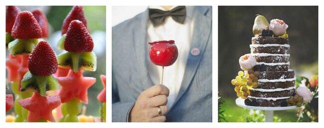 Früchte Hochzeit