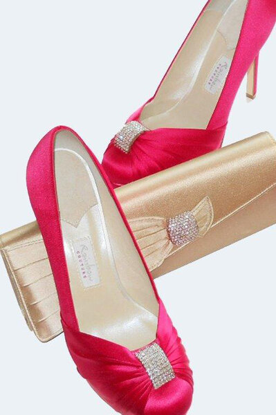 Chaussures de mariage de couleur Tesi Amiet