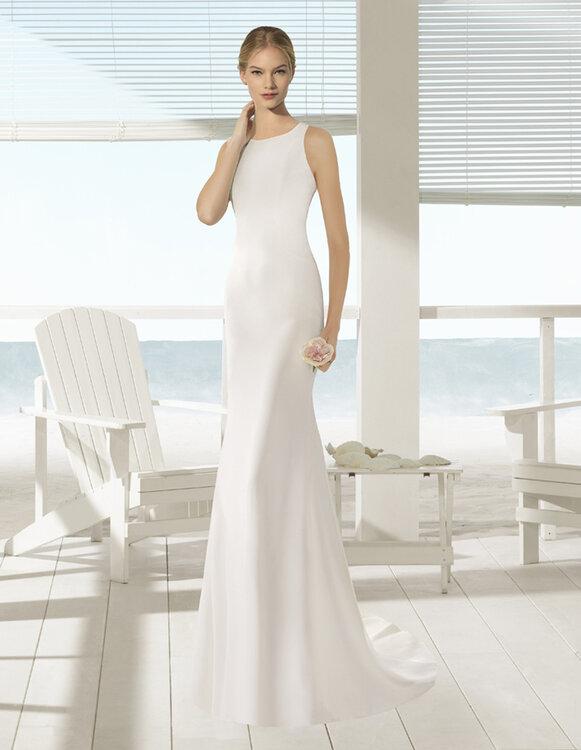 Brautkleider für Frauen mit kleiner Oberweite – Modelle mit dem ...